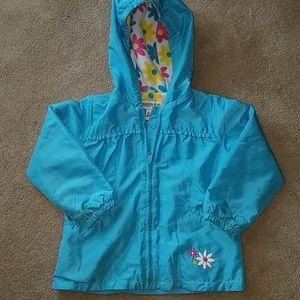 London Fog girls lightweight jacket. Size 5-6.